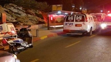 Run over 14 Israeli