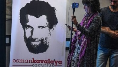 Photo of Turkey re-arrests activist Osman Kavala hours after he was acquitted