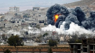 صورة قصف متواصل على إدلب السورية