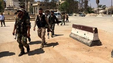 Photo de les troupes syrienne contrôlent  plus de 600 km2 dans les gouvernorats d'Alep et d'Idlib