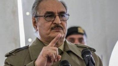 Photo de Le maréchal Haftar: Nous défendrons la Libye contre les envahisseurs turcs