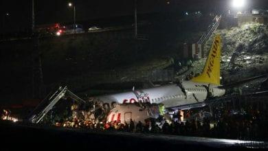 Photo de Turquie: Accident d'avion tue 3 personnes et fait 179 blessés