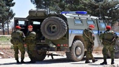 Photo de La police militaire russe déployée dans la ville syrienne de Saraqib