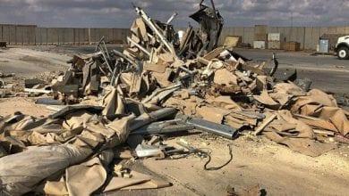 صورة معسكر التاجي في العراق يتعرض لهجوم صاروخي جديد