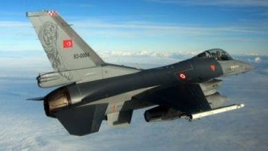 صورة طيران النظام التركي يشن عدة غارات على سراقب وريف إدلب