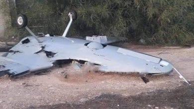 صورة الدفاعات الجوية الليبية تسقط طائرة تركية مسيرة