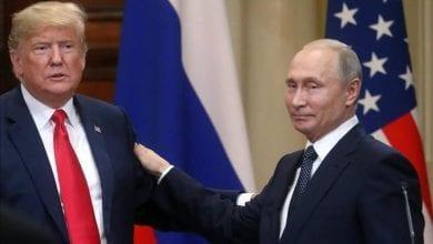 صورة كورونا والنفط في اتصال ترامب مع بوتين