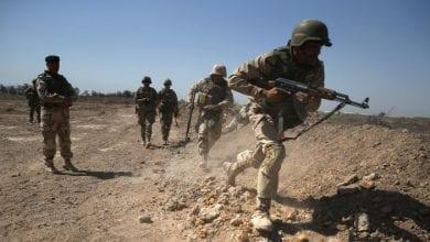 صورة مقتل 18 عنصرا من الحشد الشعبي جراء قصف أمريكي على الحدود العراقية السورية