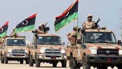 صورة مدينة زلطن الاستراتيجية تحت سيطرة الجيش الليبي