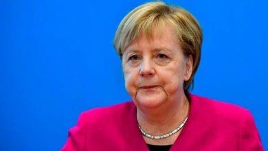 Photo de La chancelière Angela Merkel est en quarantaine