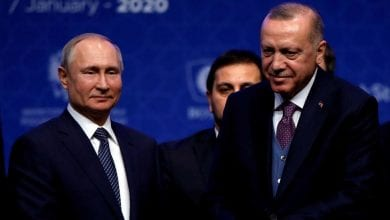 Photo of Erdogan and Putin meet in Moscow on Thursday, seeking rapid ceasefire in Idlib