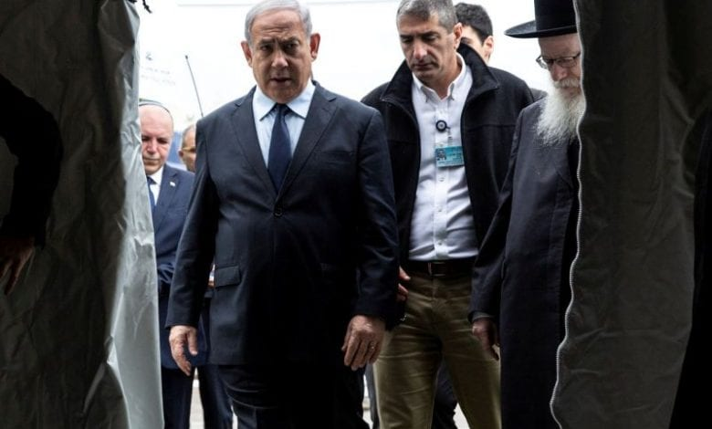 Photo of Israel's Netanyahu and his close aides have been placed under precautionary COVID-19 quarantine