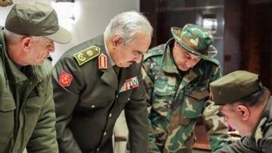Photo de L'armée libyenne renforce le contrôle de la frontière avec la Tunisie