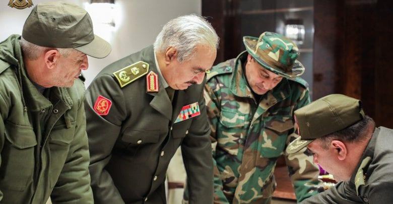 Photo of L'armée libyenne renforce le contrôle de la frontière avec la Tunisie