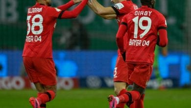 Photo of Leverkusen down 10-man Union to reach German Cup semis