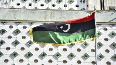 Photo of Libyan Embassy in Damascus reopened