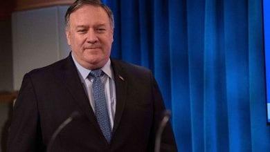 Photo de Le secrétaire d'État américain Mike Pompeo arrive à Afghanistan