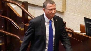 Photo de Le président de la Knesset Yuli Edelstein démissionne