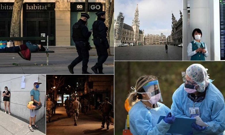 Photo of Bilan Mondial: Le monde face au coronavirus