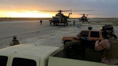 Photo de Une base militaire irakienne visée par 10 roquettes en Bagdad