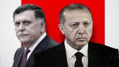 صورة حكومة السراج الإخونجية تضع طرابلس تحت وصاية النظام التركي