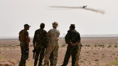 Photo de Six drones turcs ont été abattus par les systèmes de défense aérienne syrienne