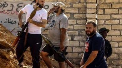 Photo de Deux soldats turcs en Haftanin et un certain nombre de mercenaires tués en Libye