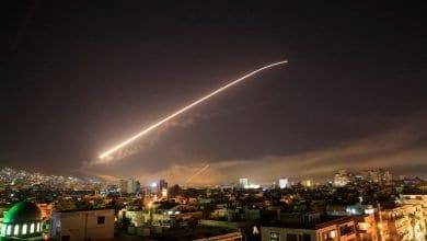 صورة قتلى وجرحى جراء غارات إسرائيلية على دمشق