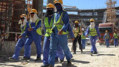 صورة فيديو: تظاهرات عمالية وقطع طرق في قطر بسبب عدم دفع الأجور