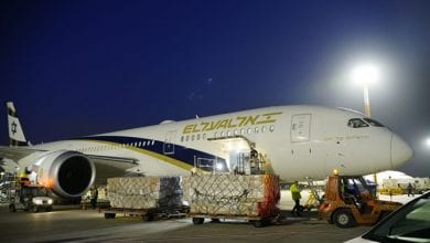 Photo of First plane with coronavirus medical supplies landed at Ben-Gurion Airport