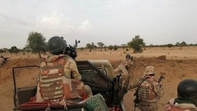 """Photo of Four Nigerien soldiers and 63 """"terrorists were killed in Niger clash"""