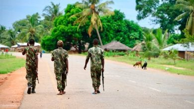 Photo of Islamist group suspected of killing 52 in 'cruel and diabolical' Mozambique massacre