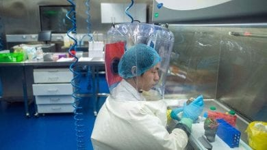 Photo of Wuhan Laboratory director Yuan Ziming denies any responsibility for spread of the pandemic