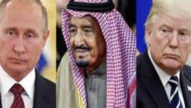 صورة محادثات نفطية بين ترامب ونظيره بوتين والملك سلمان