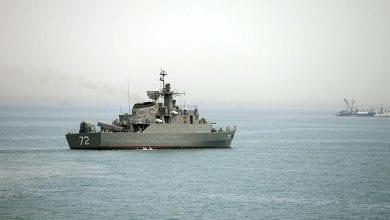 صورة التلفزيون الإيراني يعلن حصيلة حادثة قصف السفينة البحرية