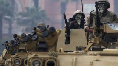 صورة القوات المسلحة المصرية تعلن عن تصفة سبعة إرهابيين شمالي سيناء