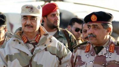 صورة المشير حفتر يطلب من القاهرة تفعيل اتفاقية الدفاع العربي المشترك