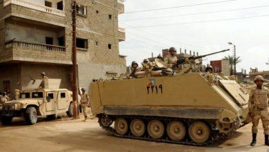 صورة مقتل وإصابة 10 جنود مصريين جراء انفجار عبوة ناسفة في سيناء