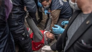 النظام التركي يقمع تظاهرة عمالية ويعتقل قيادات نقابية