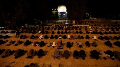 Photo of Al-Aqsa mosque in Jerusalem reopens after two months