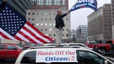 Photo of America's stark 'liberty or death' conundrum