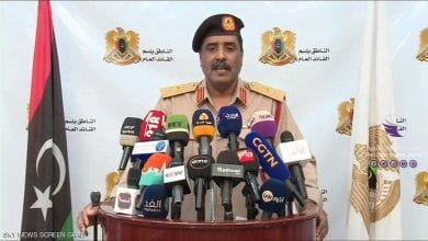 Photo of GNA Militias militarily cooperating with Yemeni Houthis, Ain Zara LNA Commander says