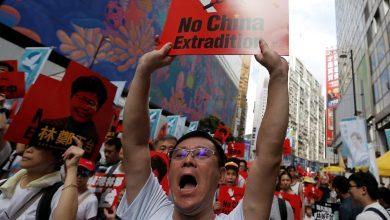 Photo de Hong Kong: Protestations contre lapplication des lois chinoises sur la sécurité nationale