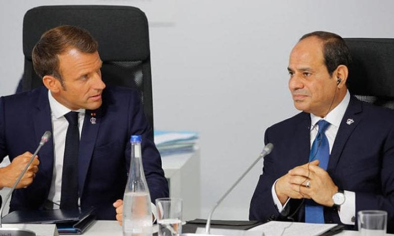 Photo of Macron, Egypt- Al-Sisi reject foreign interference, stress the need for political solution in Libya