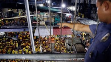 Photo of Nearly 10,000 prisoners released over virus fears: Philippines