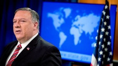 Photo of Pompeo says 'enormous evidence' virus came from Wuhan lab