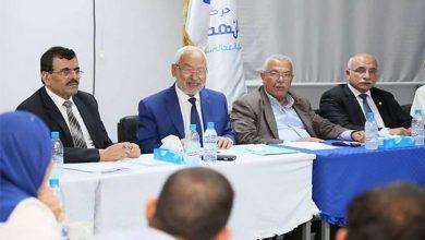 Photo de Rached Ghannouchi dissout le bureau exécutif d'Ennahdha