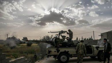 صورة الجيش الليبي يطرد المليشيات الموالية للنظام التركي من محيط قاعدة الوطية