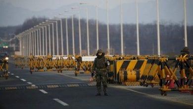 Photo de Echange de tirs entre la Corée du Nord et du Sud
