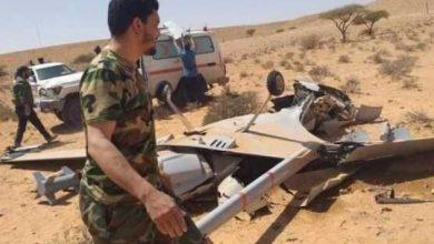صورة الجيش الليبي يسقط طائرة تركية مسيرة في محيط قاعدة الوطية
